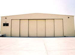 Steel Aviation Hangar
